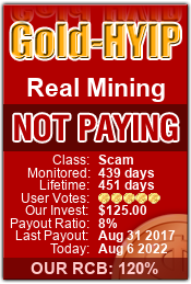 Monitored by gold-hyip.com